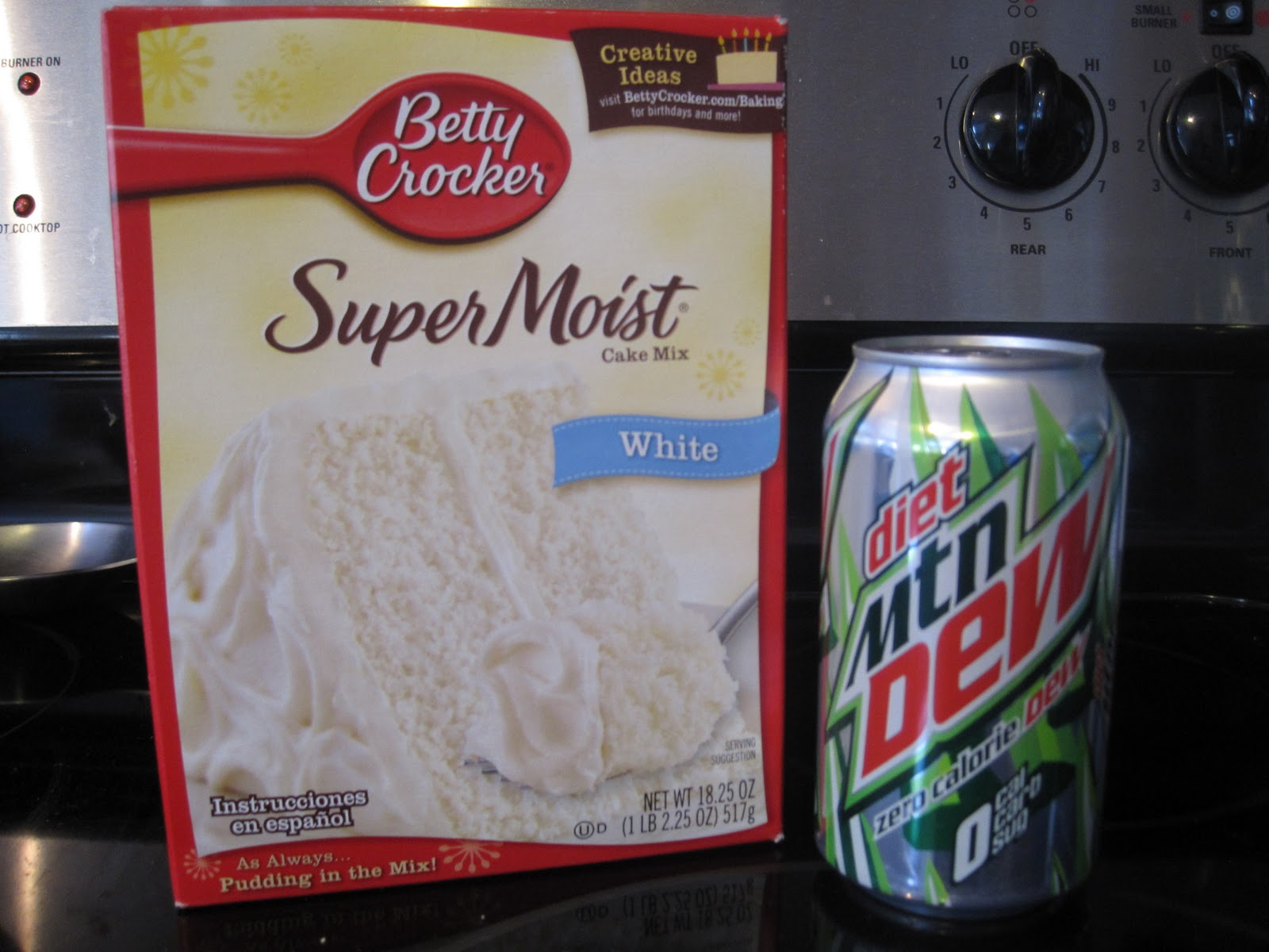 What's Cooking: Cake with Diet Soda