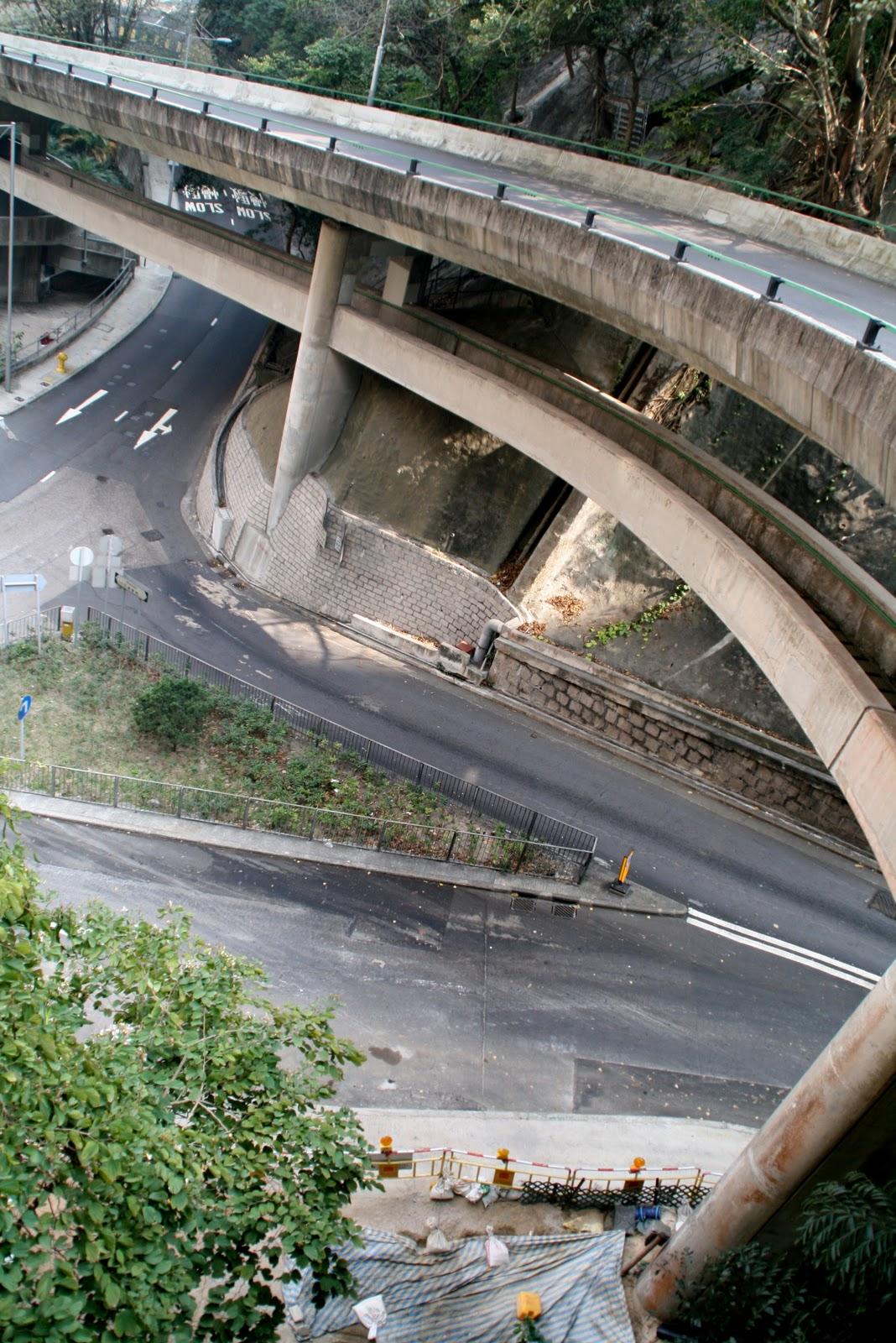 Hong Kong's roads are a maze