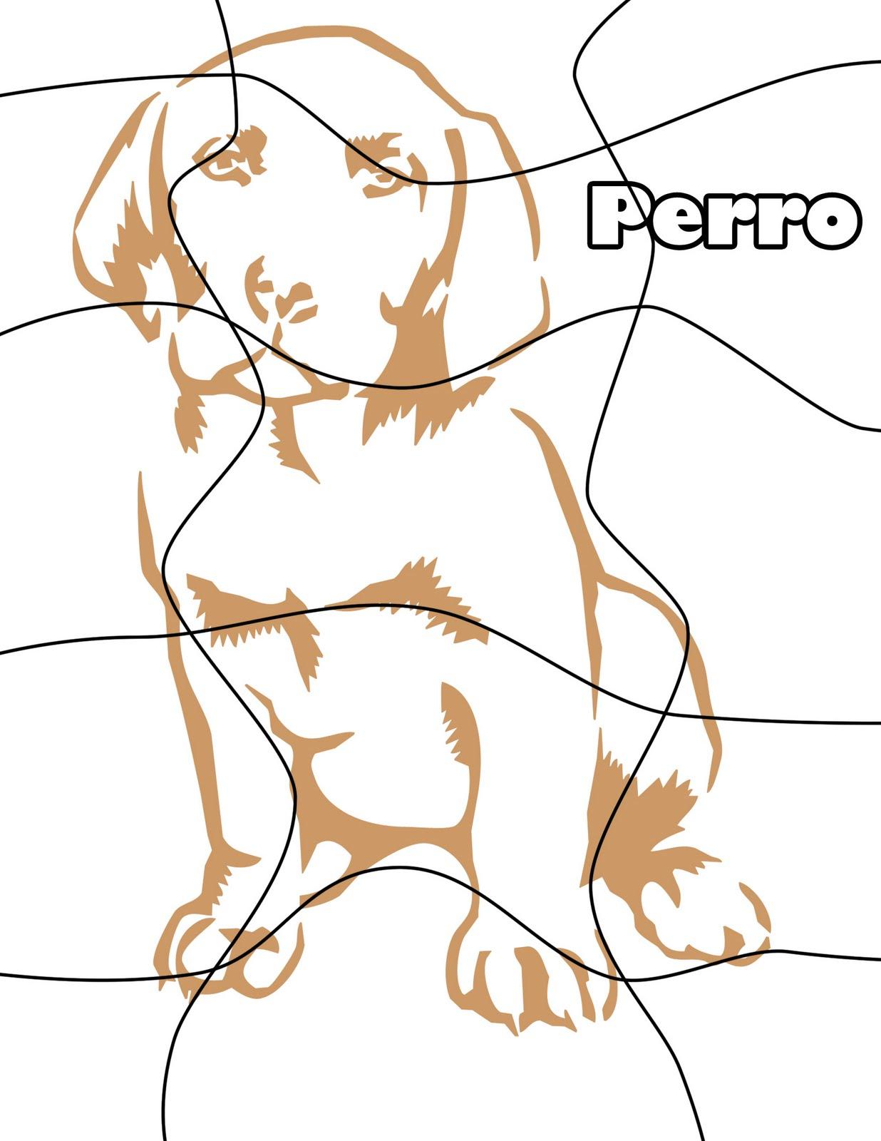 Listo Para imprimir-: Rompecabezas de perro