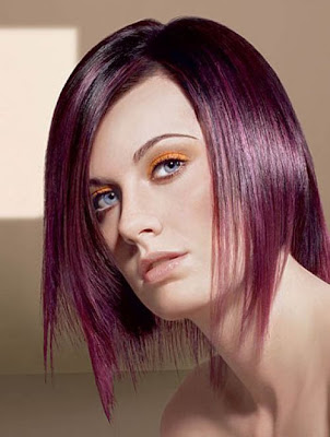 The parting can be a straight side one or an uneven side parting.