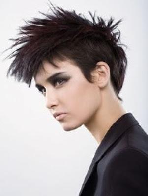 punk short hairstyle. Punk Short Hair StylesPunk
