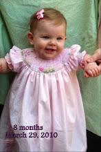Lyllian:  8 months