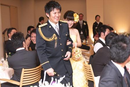 皆が楽しみにしていた結婚式