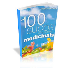 Livro 100 Sucos com Poderes Medicinais