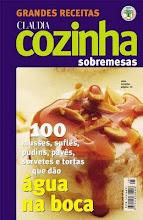 Revista Claudia Sobremesas