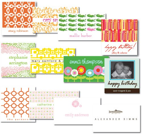 stick it to &#39;em - calling cards &amp; gift stickers