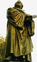 Luther Statue at Concordia Seminary, Saint Louis