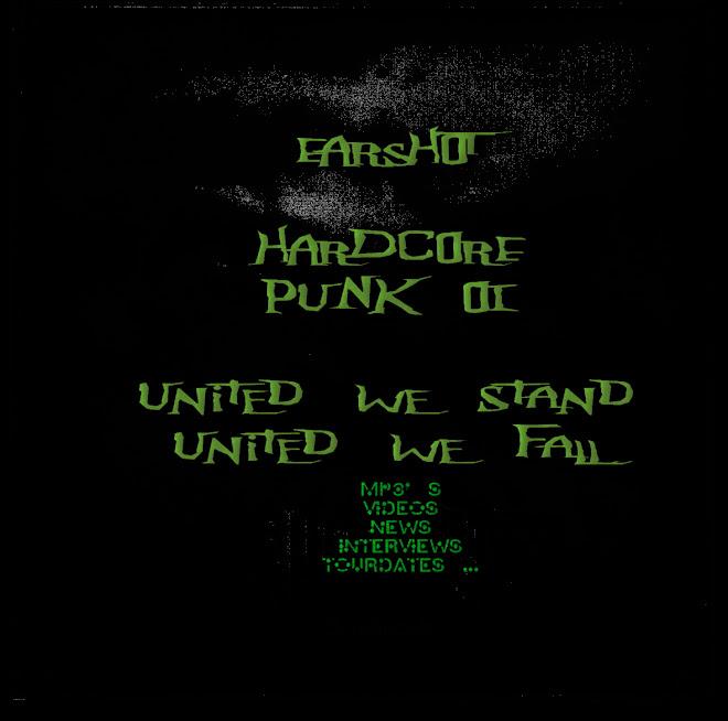 EARSHOT hardcore punk oi music