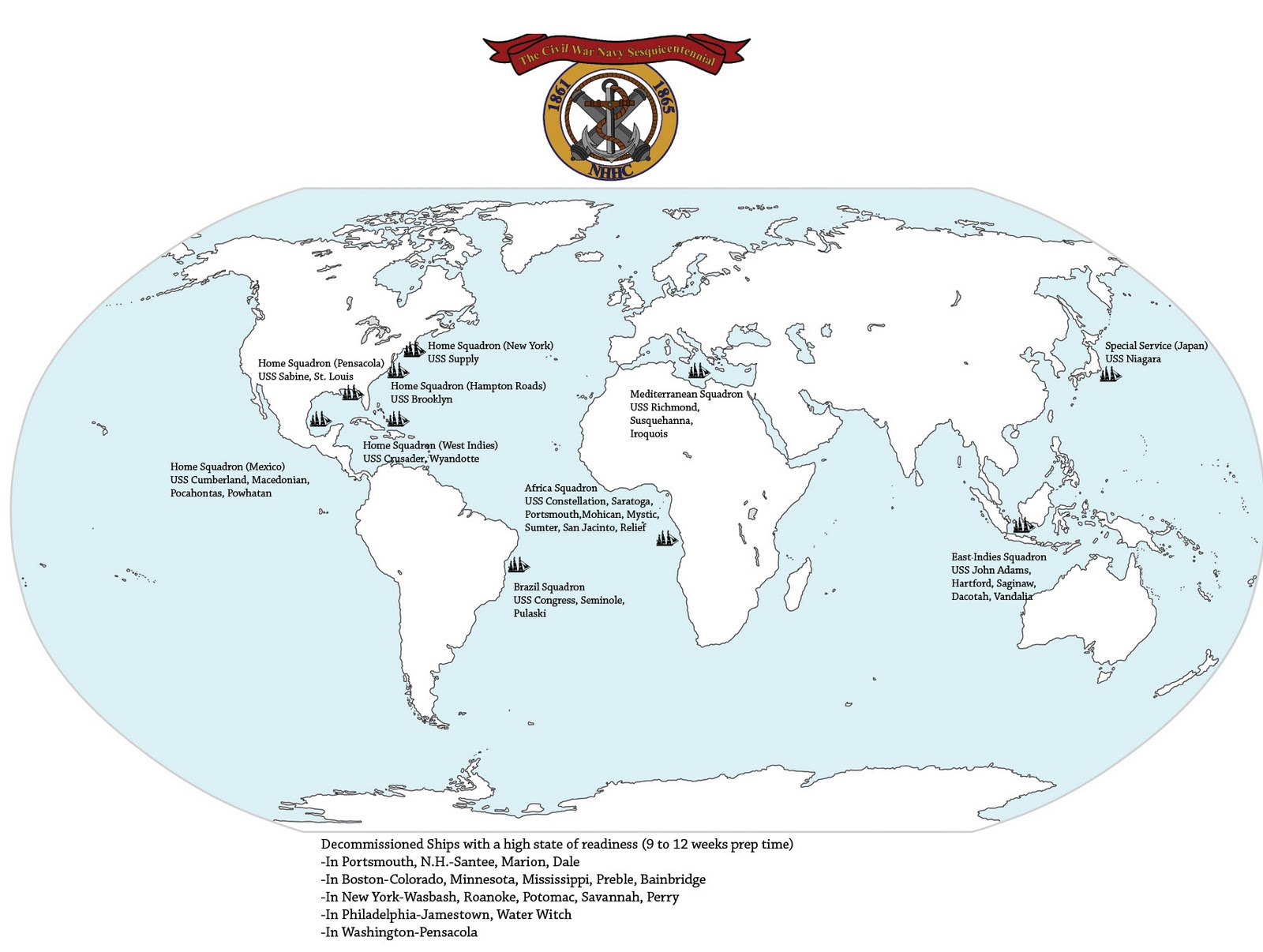 Map Of Us Navy Fleets Globalinterco - Us maps navy