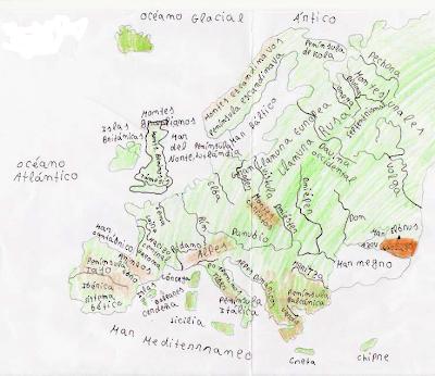 America+mapa+fisico