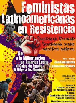 Feministas latinoamericanas en resistencia