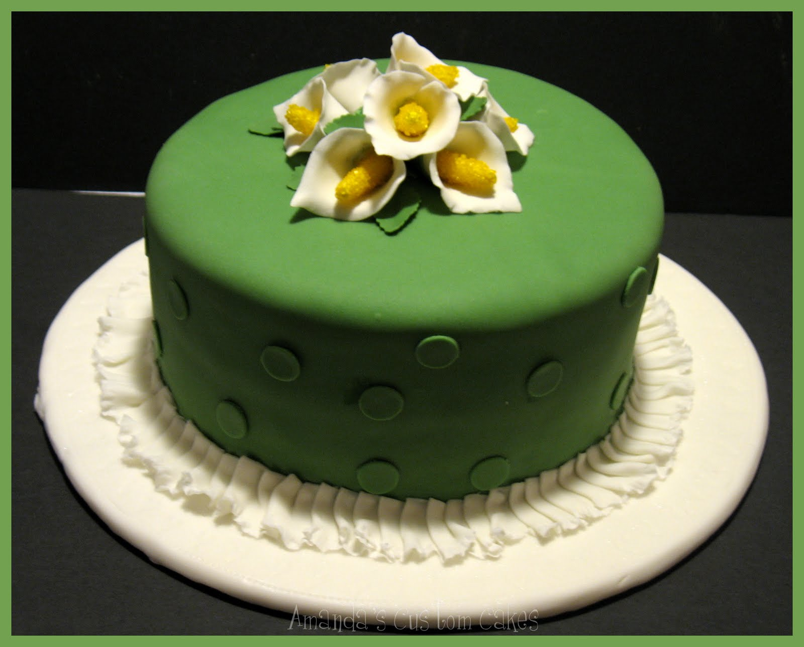 Wilton Cake Fondant Class : Amanda s Custom Cakes: Wilton Fondant & Gumpaste Course ...