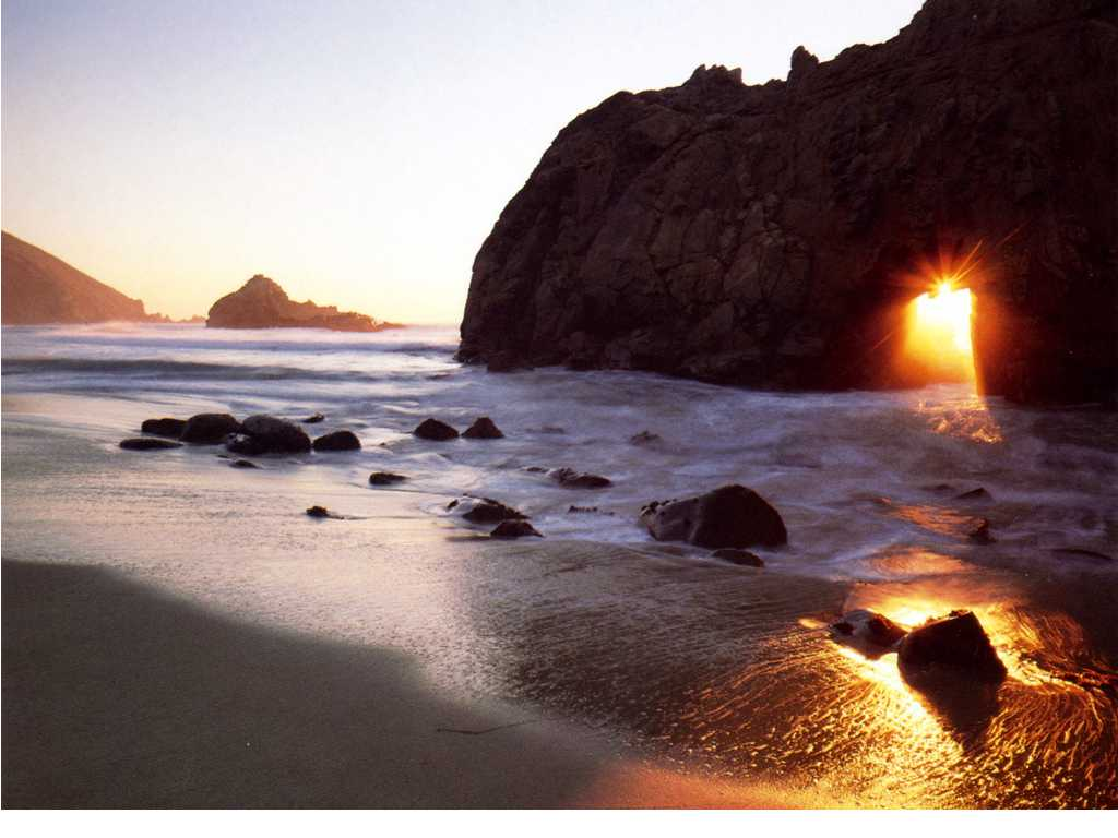 California Beach Sunrise In The Morning Wallpaper Beach Wallpaper