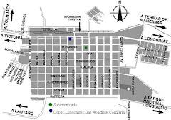 Mapa de Curacautín