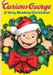Filme Poster George O Curioso - Um Natal Cheio de Macacadas DVDRip XviD Dublado