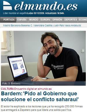 Javier Bardem ese progre