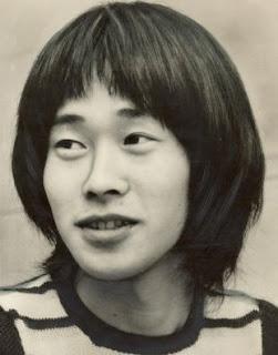 若かりし日の清志郎氏