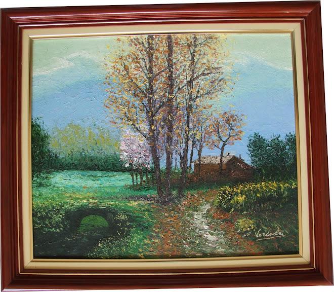 Pintura - Ponte de Primavera