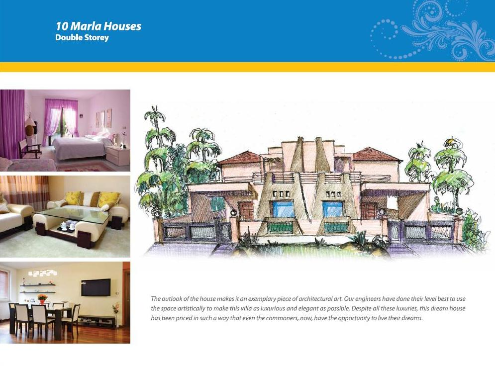 10 marla houses double storey 10 marla houses double storey features 1 ...