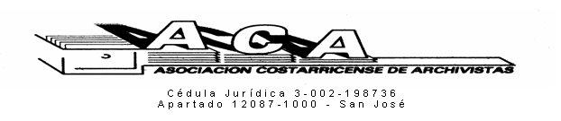 ASOCIACIÓN COSTARRICENSE DE ARCHIVISTAS