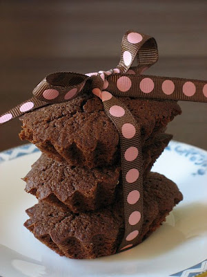 Dark Chocolate Financiers