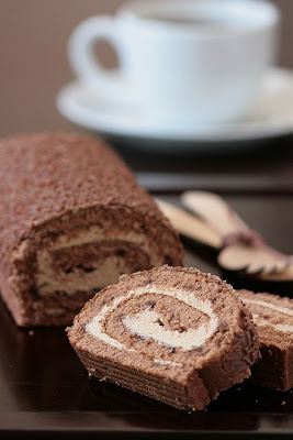 Choco Mocha Cake-Copyright©Tartelette 2008