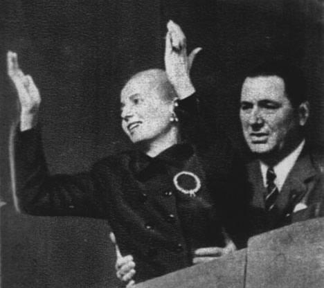 a biography of maria eva duarte de peron a first lady of argentina Argentine first lady eva peron - evita - died 60 years ago but her legacy  born  maria eva duarte 7 may 1919 marries col juan peron 1945.