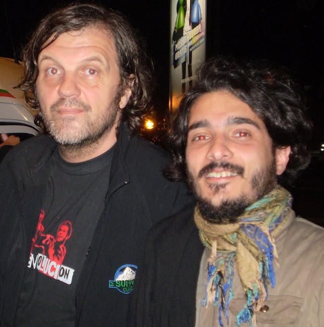 Emir Kusturika y Pipiolo