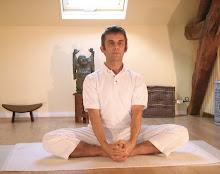 Baddakonasana--Bound Ankle Pose