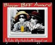 Blogger B.F.F. Award