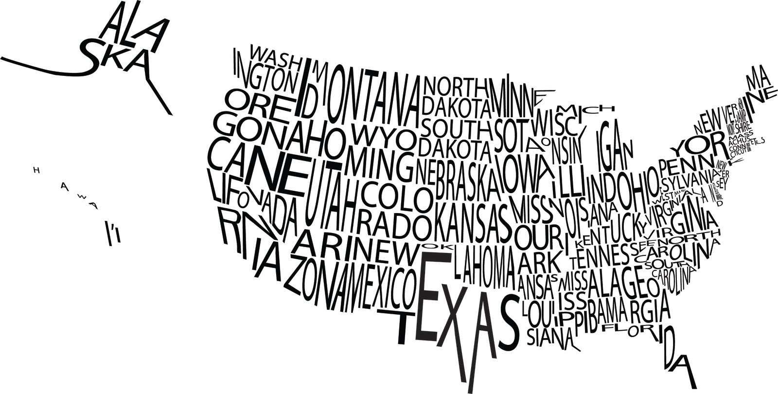 us map by andrew goldsmith
