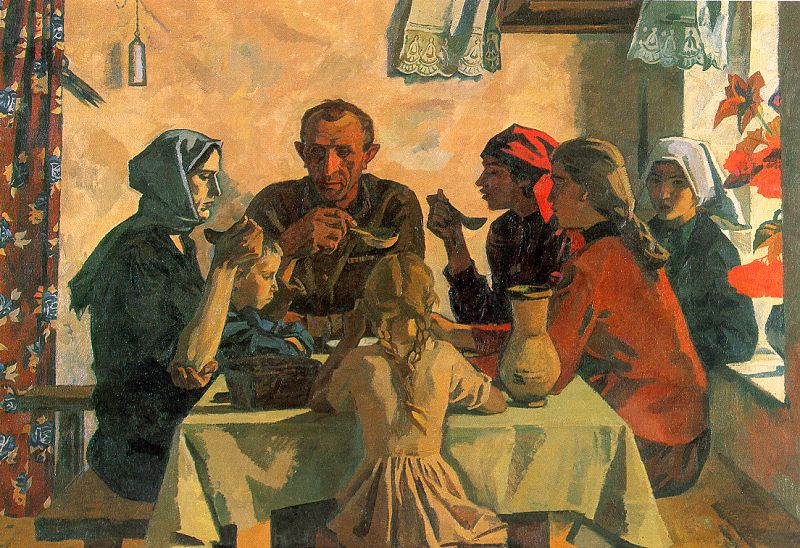 an analysis of the social realism in art Socialist realism isn't just pictures of happy workers and brave soldiers.