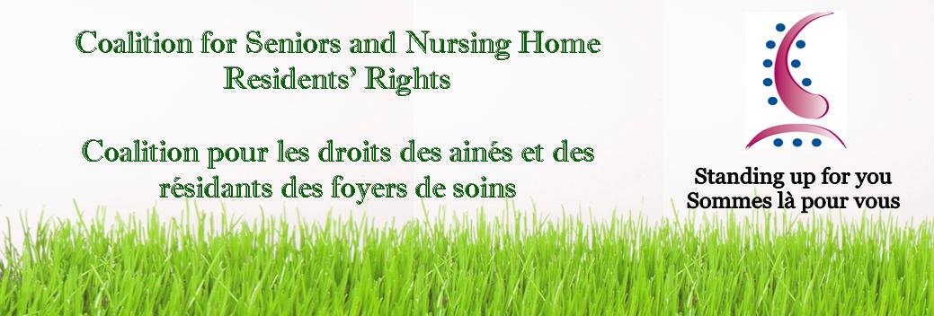 Coalition for Seniors and Nursing Home Residents' Rights