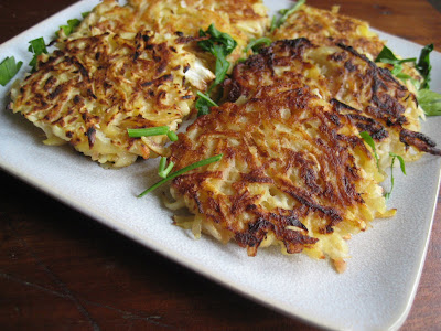 Potato Celery Root Latkas