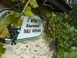 L'affût gourmand - Table paysanne