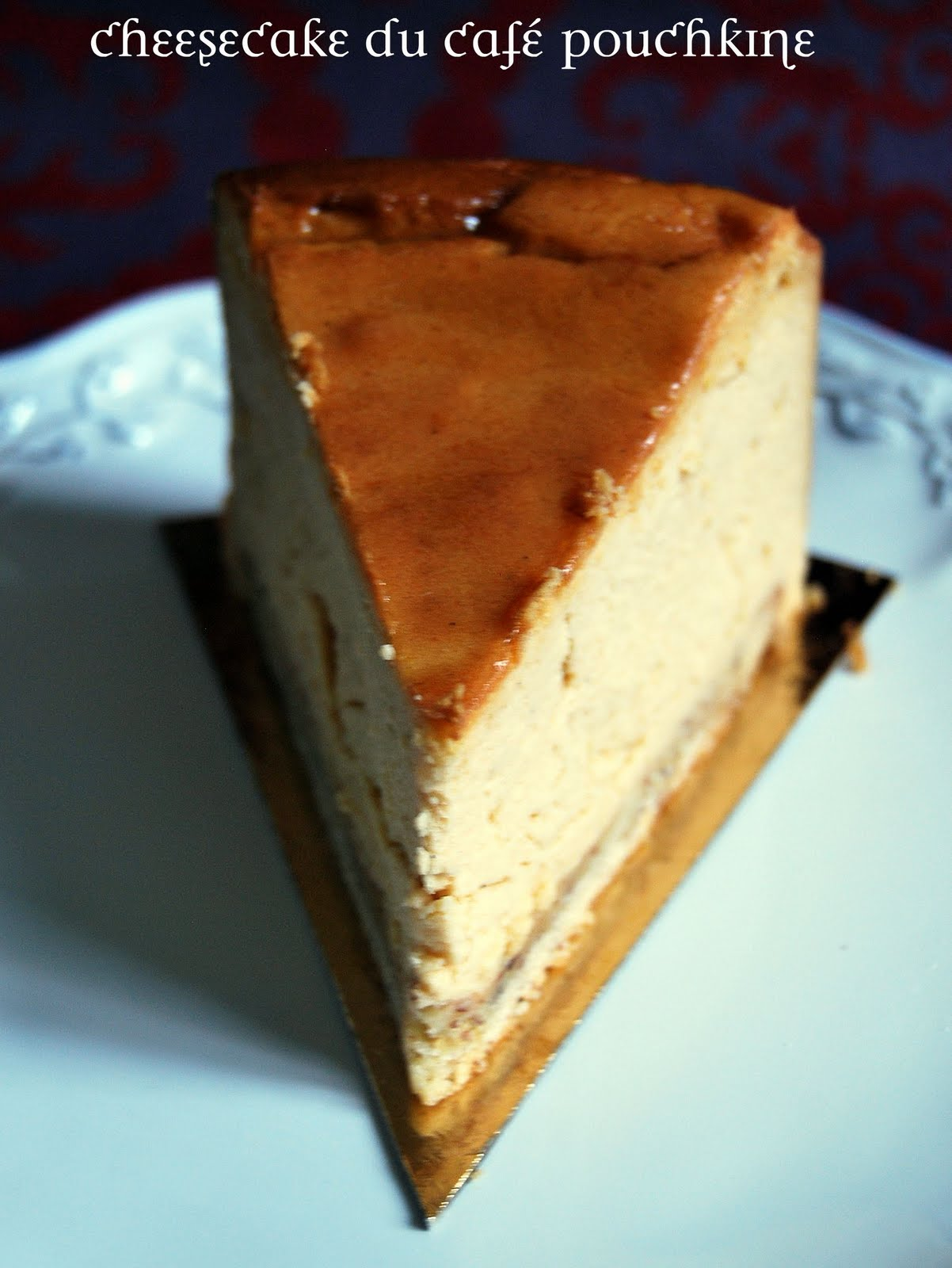 Recette My Caf Ef Bf Bd Cheesecake