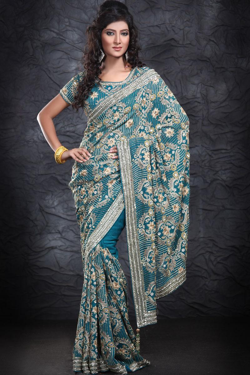 Kingdom Of Photo Albums  Models With Indian Designer Saree
