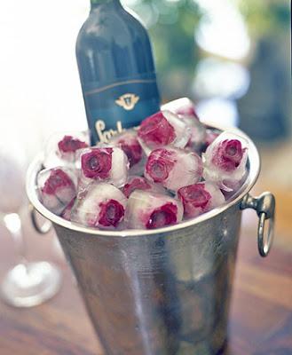 лед и рози