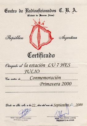 CENTRO DE RADIOAFICIONADOS CIUDAD DE BUENOS AIRES