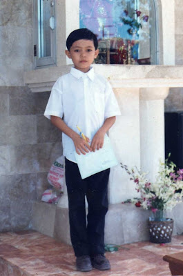 first holy communion, gay child