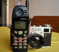 nokia 5110 with camera, funny phone pic