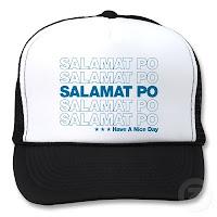 salamat po, thank you cap