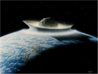 Planet x hitting earth