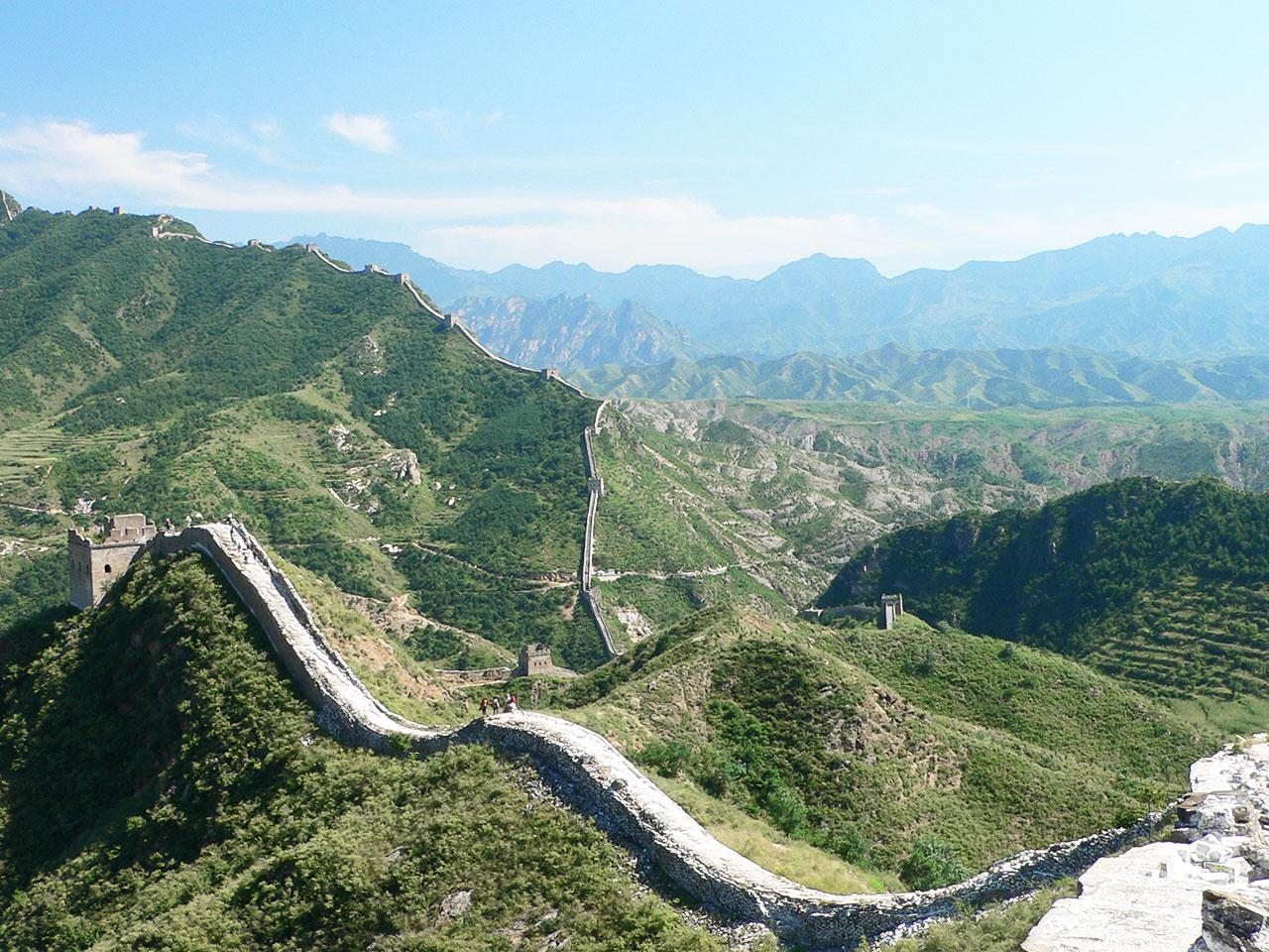 Las nuevas 7 maravillas naturales y modernas del mundo for Q es la muralla china