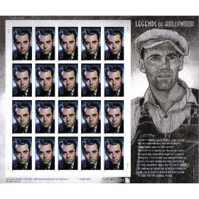2005 HENRY FONDA ~ LEGENDS OF HOLLYWOOD #3911 Pane of 20 x 37 cents US Postage Stamps