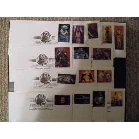Star Wars First Day Covers (Set of 15)