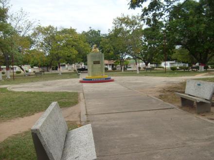Plaza y centro de Las Piedras
