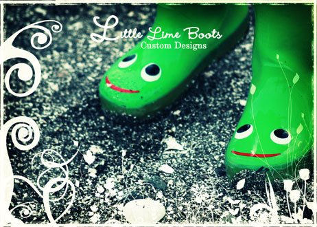 Little Lime Boots