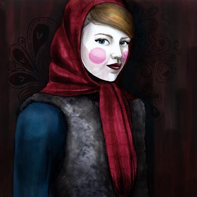 Femme Russe Cristoon