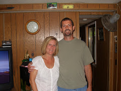 Keith and I at Aunt Kathy's. June 2008